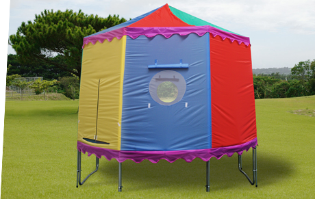 They simply go over your tr&oline netting and enclosure and they donu0027t reduce the bounce area. They can be used as a den a playhouse or even for ... & TrampolineTents4U